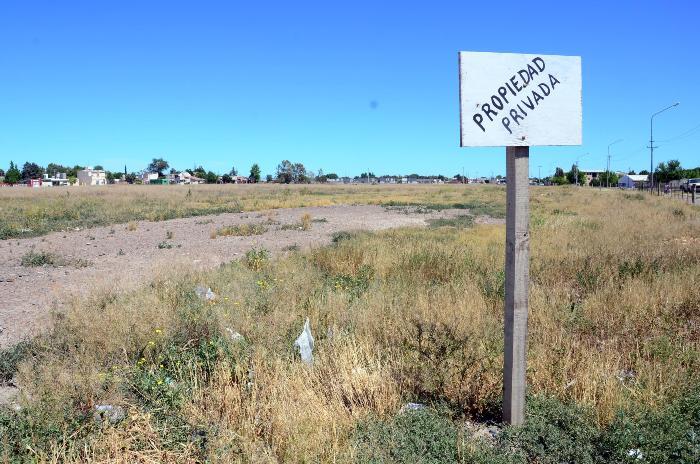 La mayor traba ha sido encontrar un terreno acorde al crédito otorgado por Nación para la construcción de la vivienda.