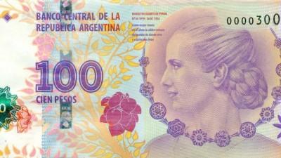 Eligieron al billete de Evita de cien pesos entre los tres mejores del mundo