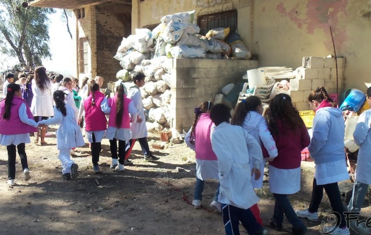 Freyre vendió más de 97 toneladas de basura reciclada