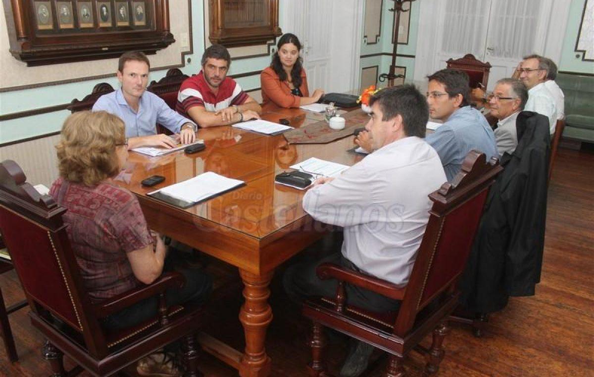 Municipio de Esperanza y UNL planifican acciones de IDEAR para el 2014