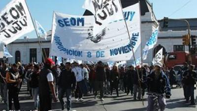 Según el SEOM, San Pedro de Jujuy es ejemplo de la judicialización de la protesta sindical en el norte