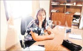 La presidente de la comuna de Santa Margarita se refirió a la crítica situación financiera con la que se encontró al asumir su cargo.