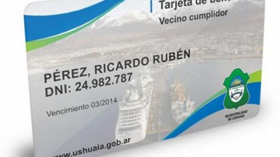 Ushuaia: Nuevos comercios se suman al programa de beneficios Vecino Cumplidor