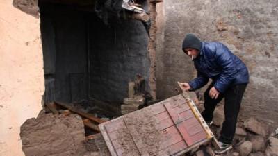 Temporal en San Juan: más de 80 viviendas destruidas