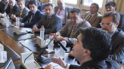 """Intendentes """"K"""" de Córdoba le dijeron a Capitanich que quieren candidato propio a gobernador"""