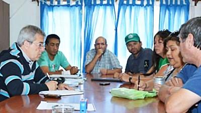 Municipio de Rincón del Sauce y sindicatos municipales negocian un incremento salarial