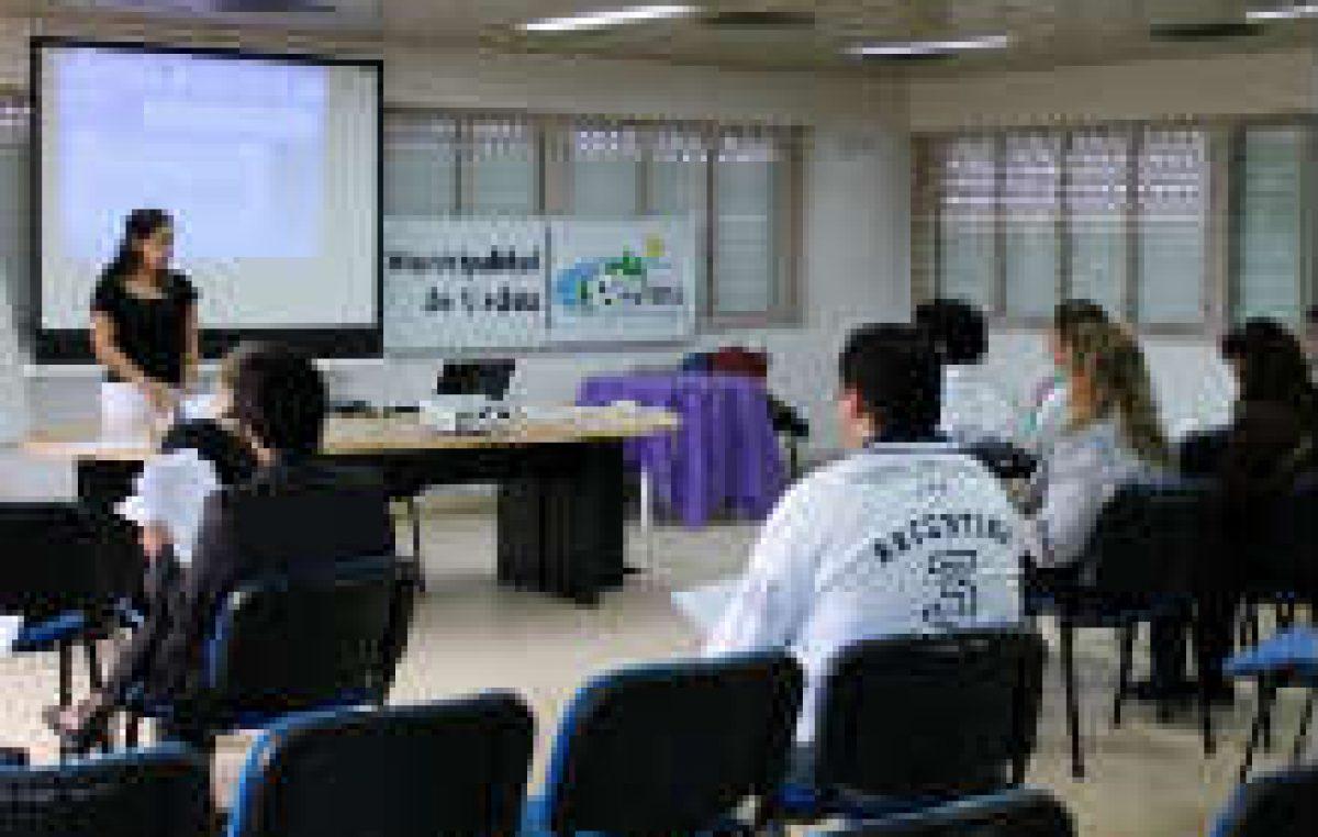 Capacitan a empleados municipales de Viedma por transporte urbano