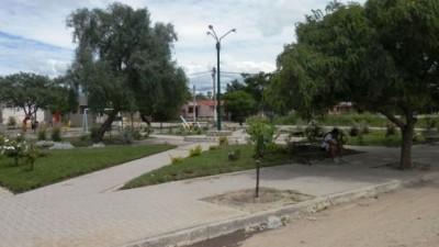 Todo un ejemplo: jóvenes reconstruyeron una plaza en General Güemes