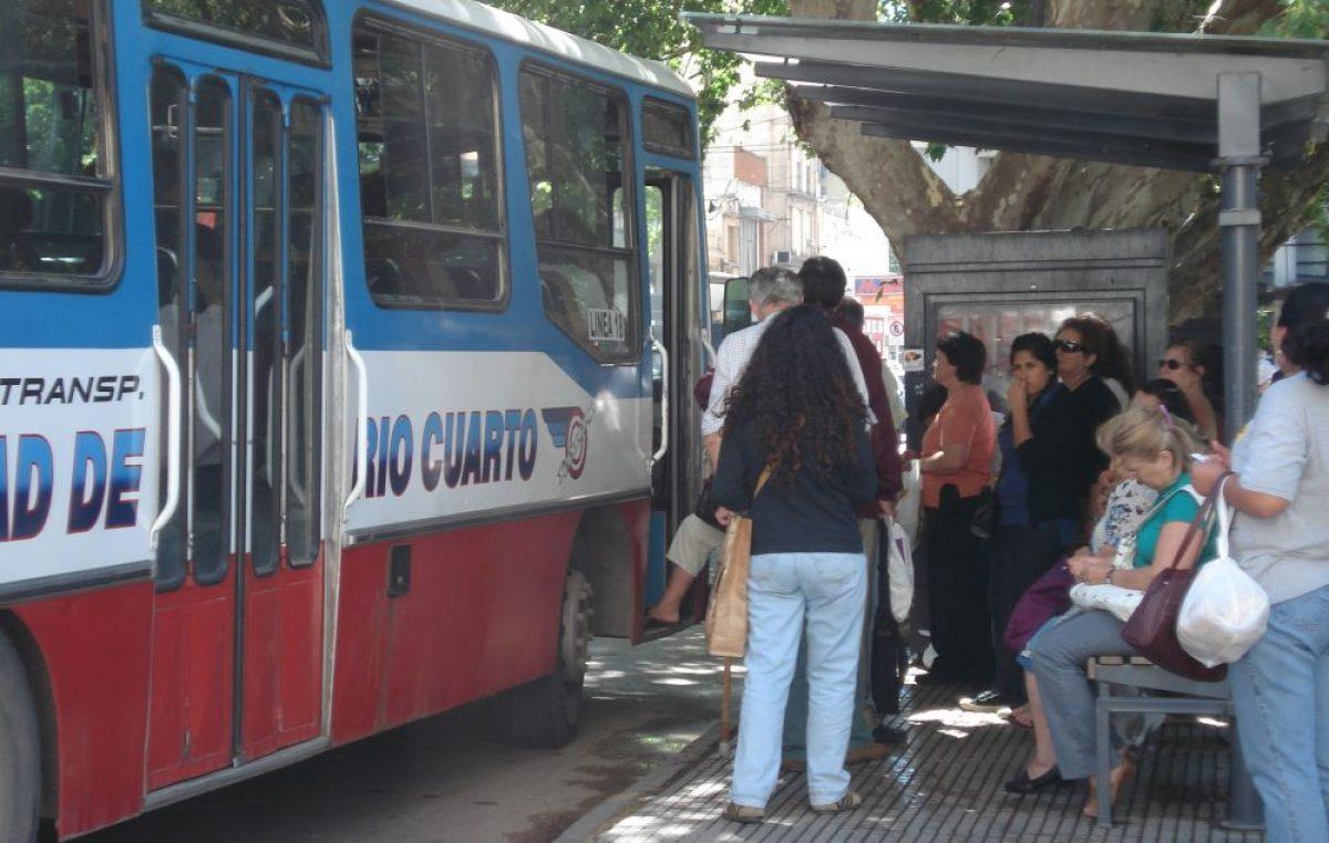 Rio Cuarto: El oficialismo no dará marcha atrás con la suba del boleto