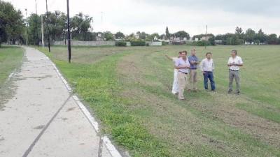 Intendente de Rafaela recorrió el predio donde se harán 132 viviendas