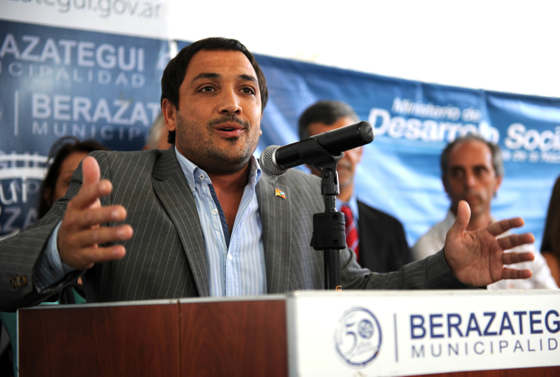 El intendente de Berazategui, Juan Patricio Mussi