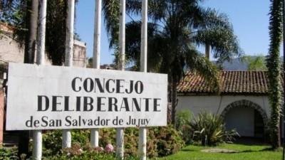 Empleados del Concejo Deliberante de San Salvador de Jujuy en acción solidaria