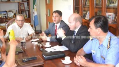 Provincia y municipio acordaron trabajo para combatir la violencia delictiva en Sáenz Peña