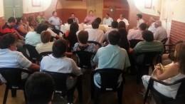 En gira por el interior, funcionarios de Corrientes destacan equilibrio de las cuentas