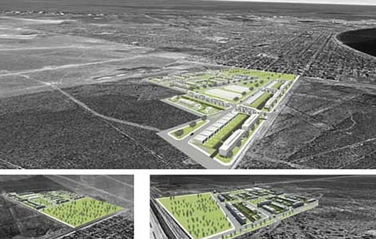 Puerto Madryn: Las 570 casas del ProCreAr imprimirán un nuevo perfil urbanístico en la zona sur