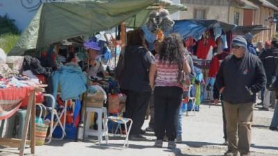 Crece el descontrol de la venta ambulante de Bariloche