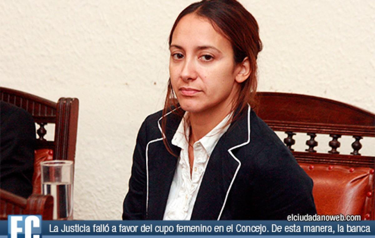 La Justicia falló a favor del cupo femenino en el Concejo Municipal de Rosario