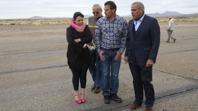 Intendentes de la zona centro de Neuquén buscan atraer vuelos comerciales