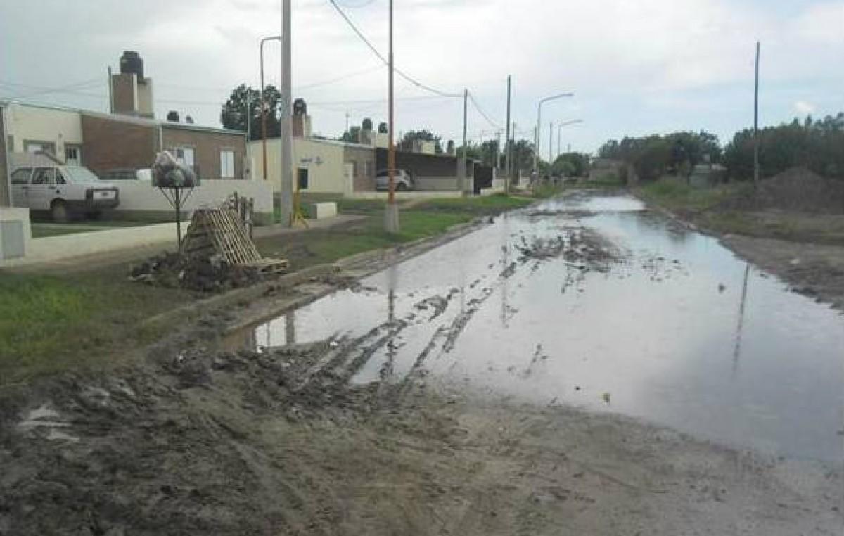Los barrios del norte de la ciudad de Santa Fe aislados por el mal estado de las calles