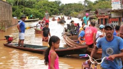 Argentina envía ayuda humanitaria a Bolivia por las inundaciones