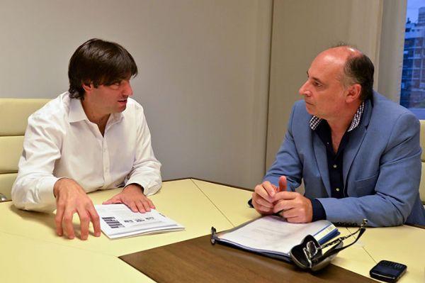 Bossio y Accastello dialogan sobre los aspectos del convenio