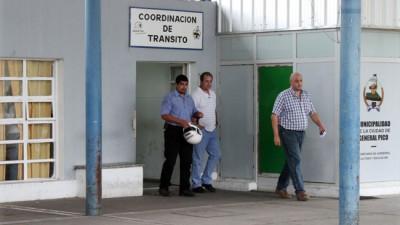 Tránsito: en Pico también hay reclamos de los trabajadores