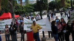 Jefes comunales se hicieron oír en Santa Fe por la tasa vial y más recursos