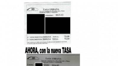 Polémica en Esperanza por incrementos en la Tasa de hasta el 2.500%
