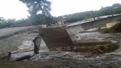 Familias evacuadas y daños por las crecidas de los ríos en La Paz, Catamarca.