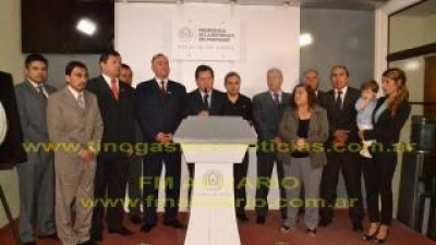El presidente de Paraguay, recibió al intendente de Tinogasta