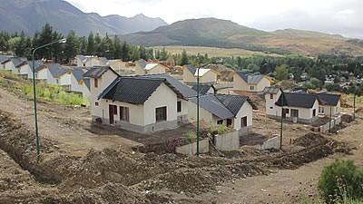 Avanzan las obras de viviendas en Esquel