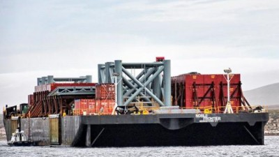 Avance británico: Instalan en las Malvinas un puerto flotante para buscar petróleo