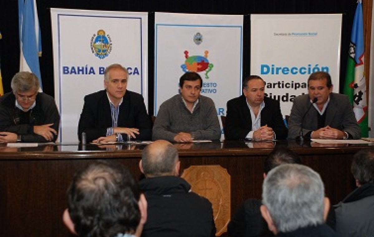 Bahía Blanca: Se conocieron los 5 proyectos comunitarios del Presupuesto Participativo