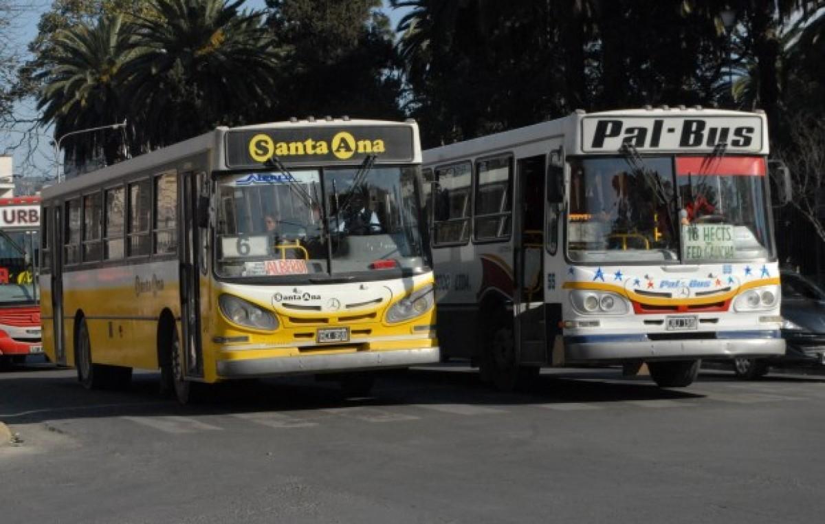 En Jujuy, empresarios buscan llevar el precio del boleto de colectivo a casi 6 pesos