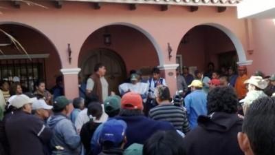 Tomarían los 10 municipios del Valle de Lerma si no llegan a un acuerdo hoy