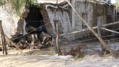 En San Martín construirán viviendas para evacuados