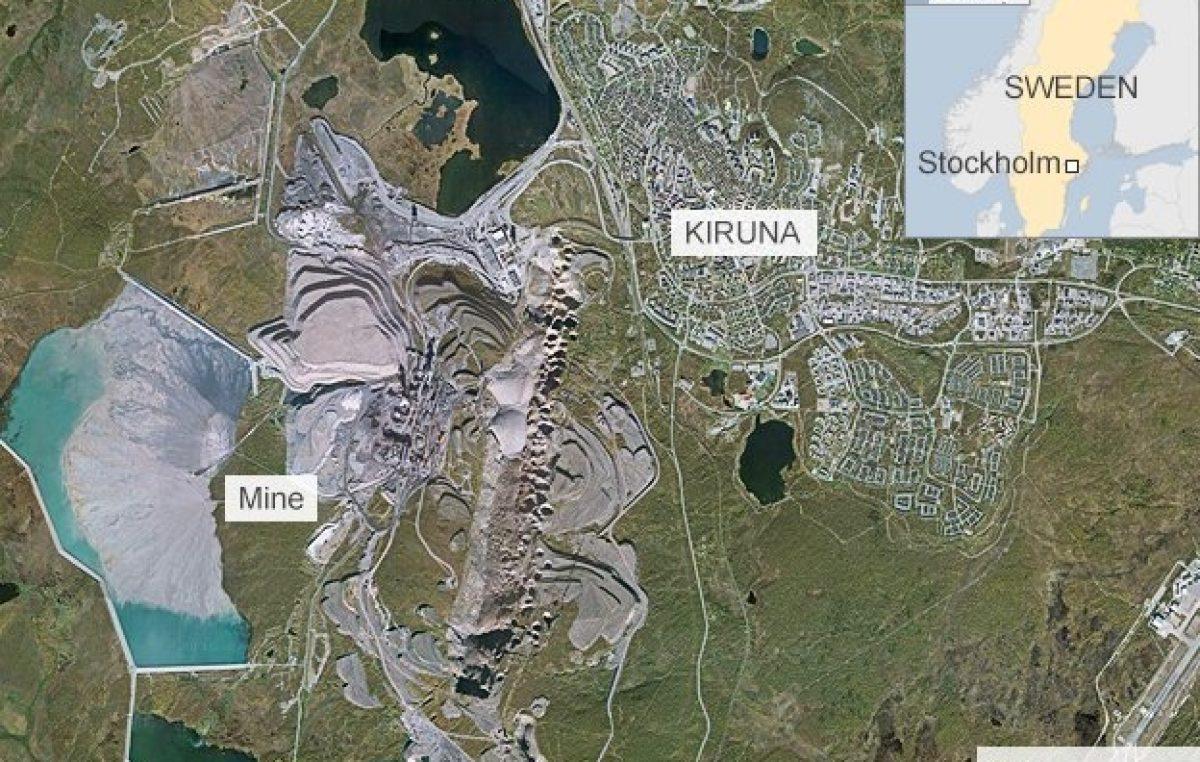 Suecia: mudarán una ciudad completa a unos kilómetros por una minera