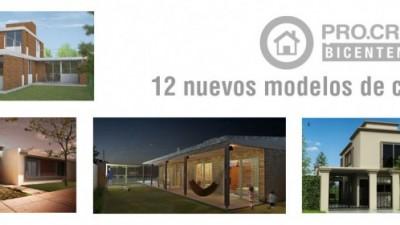 Ya se encuentran disponibles 12 nuevos modelos de casas Procrear