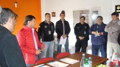 Se firmaron convenios con aeroclubes de los 3 municipios de Tierra del Fuego
