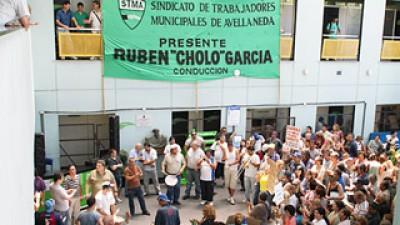 """Municipales reclamarán un """"sinceramiento salarial"""" en Avellaneda"""