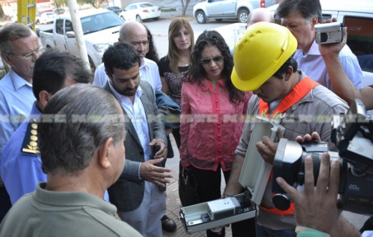 Cámaras e intervención de la caminera, los anuncios de la ministra para mejorar la seguridad en Saenz Peña