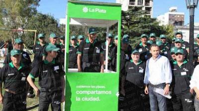 Vuelve el placero a cuidar los espacios verdes de La Plata