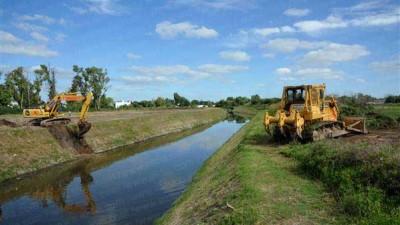 Avanzan las obras estructurales para evitar el riesgo de una nueva inundación