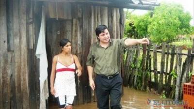 Corrientes: Intensas lluvias y decenas de evacuados en varias comunas