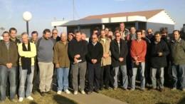 Jefes comunales justicialistas de Santa Fe marchan contra la Tasa Vial