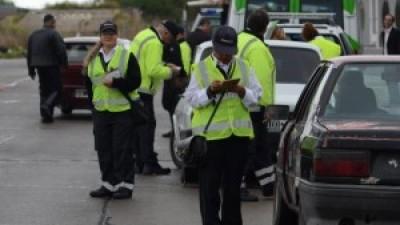 Levantan el paro en la Dirección de Tránsito de Santa Rosa