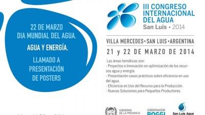 Comenzó el Congreso Mundial del Agua en Villa Mercedes