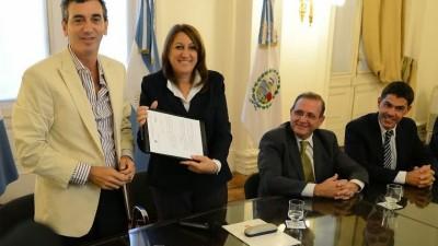 La Nación y Rosario avanzaron con los fondos para la estación de tren