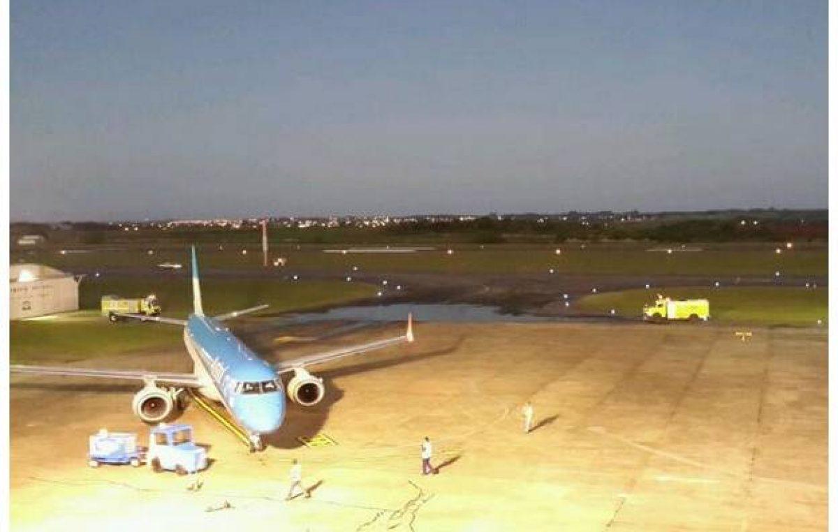 Volvieron los vuelos Buenos Aires – Paraná de Aerolíneas Argentinas