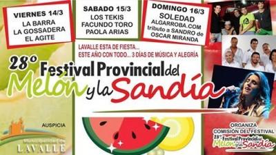 Festival Provincial del Melón y la Sandía en Mendoza